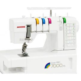 Распошивальная машинка Janome Cover Pro 7000 CPS
